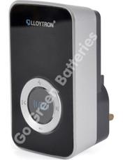 Lloytron Door Bell Wireless Receiver-Black