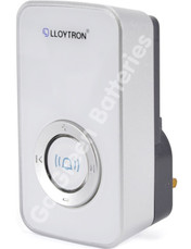 Lloytron Door Bell Wireless Receiver-White