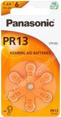 Panasonic Hearing Aid Batteries PR13 Orange