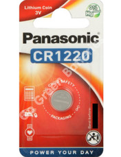Panasonic CR1220 3 Volt Lithium Coin Cell Battery. 1 Pack