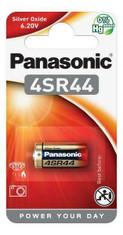 Panasonic 4SR44 6 Volt Silver Oxide Security Battery. 1 Pack