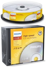 Philips CD-R Blank Recordable Discs 700MB