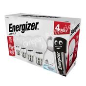 Energizer B22 8.2 Watt GLS LED Bulb. 806 Lumens. Equivalent - 60W (Opal/Daylight)