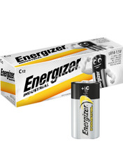 Energizer C Industrial Alkaline Battery (LR14, MX1400) 12 Pack