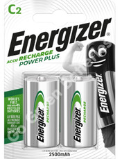 Energizer C 2500 mAh Rechargeable Battery