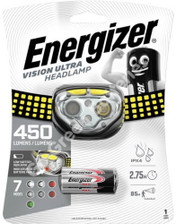 Energizer Vision Ultra LED Head Torch 450 Lumens