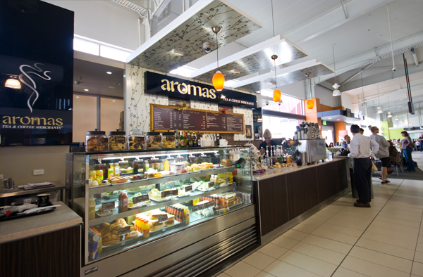 Aromas Café Gold Coast Coolangatta Airport