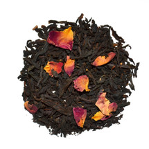 An exclusive blend - a delicately subtle Earl Grey with a hint of vanilla and Pink Rose petals.
