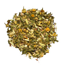 A delicious blend of herbs, best enjoyed just before bedtime. This tea supports the immune system with anise and fennel seeds, packed with vitamins and antioxidants known for their health promoting effects.  This tea also contains a hint of peppermint and chamomile, known for its its mild sedative effects and treasured for its ability to relieve insomnia and encourage a good night's sleep.