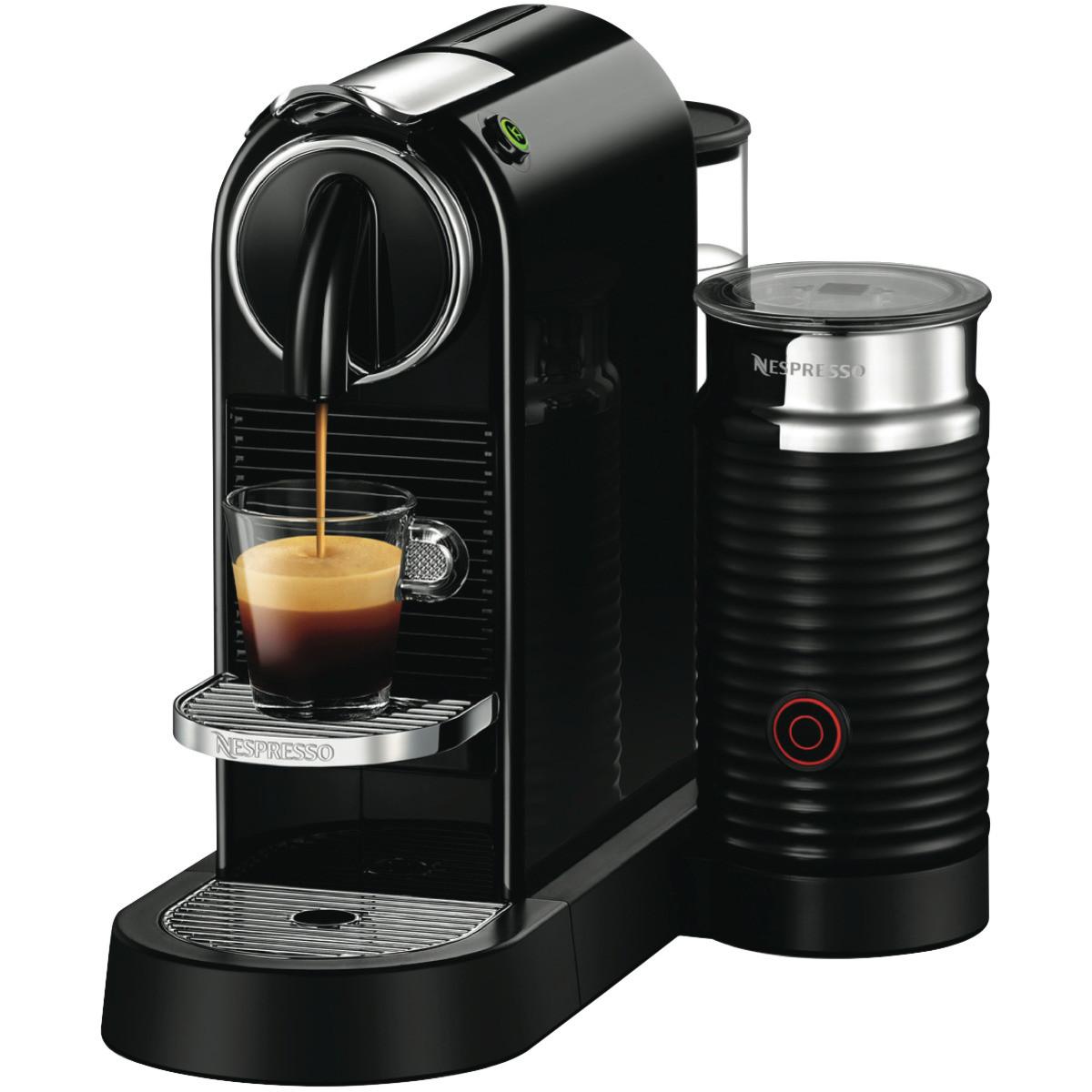 Delonghi Citiz & Milk Capsule Coffee Machine - Aromas ...