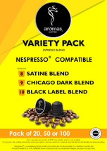 Aromas Variety (Nespresso Machine Compatible) Coffee Capsules