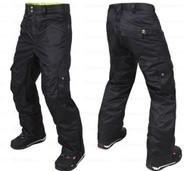 M3 Griffin Men's Ski Snowboard Pants Black