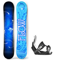 Flow Star Women's Snowboard Package with Flow Bindings