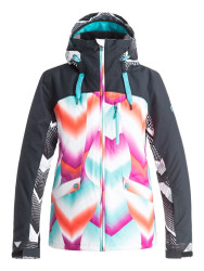 Roxy 2017 Wildlife Women's Snowboard Ski Jacket Pop Snow Ocean Spray