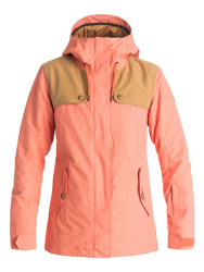 Roxy 2017 Lodge Women's Snowboard Ski Jacket Camellia