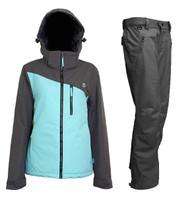 2018 Turbine Cascadia Women's Snowboard Ski Jacket + Pants Robin's Egg