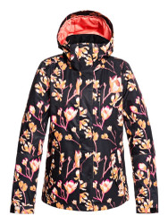 Roxy Jetty Torah Bright True Black Magnolia Womens Snowboard Ski Jacket - 2020