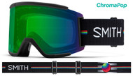 Smith Optics Squad XL Goggles AC Louif Paradis/ChromaPop Green Mirror Lens