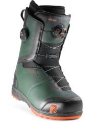 Flow Helios Focus Dual BOA Men's Snowboard Boots Forest - 2020