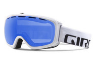 Giro Basis Goggles White Wordmark Frame Gray Cobalt Spherical Lens