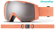 Smith Optics I/O Goggles Salmon Flood/ChromaPop Sun Platinum Lens