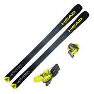 HEAD Monster 83 X Skis +Tyrolia Attack2 13 GW Ski Bindings