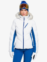 Roxy Women's Snowstorm Snow Jacket - Bright White WBB0 - 2021