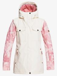 Roxy Ceder Silver Pink Tie Dye Womens Snowboard Ski Jacket - 2021
