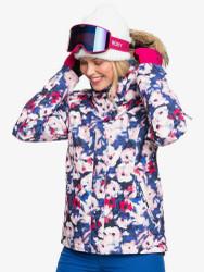 Roxy Jet Ski MAZARINE BLUE MIND JINGLE Womens Snowboard Ski Jacket - 2021