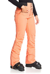 Roxy Rising High Women's Shell Snow Pants Fusion Coral - 2021