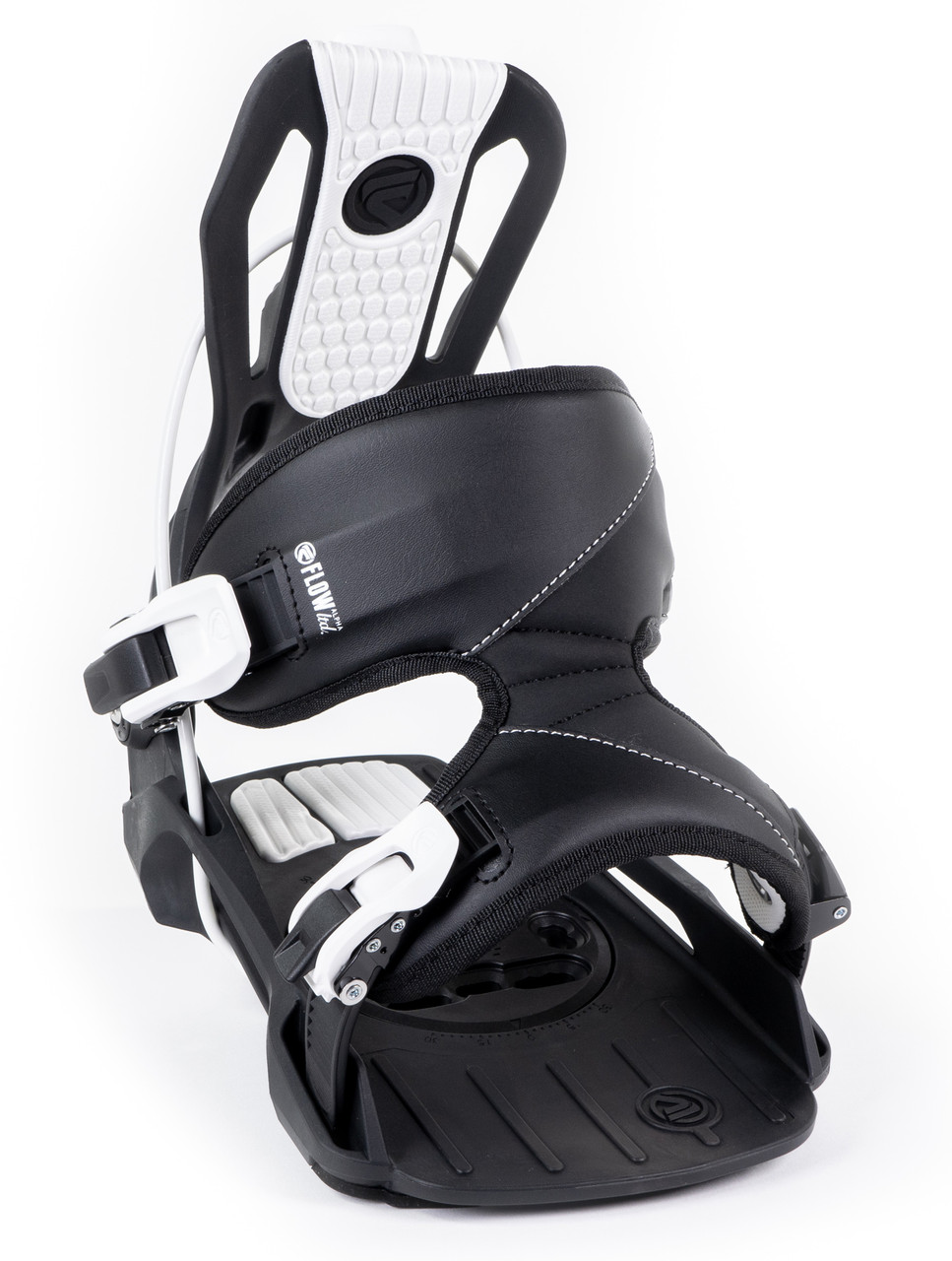Flow 2021 Mens Gap Wide Snowboard Package White Alpha Bindings DC Boots