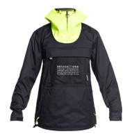 DC Men's ASAP Anorak Snowboard Jacket Black - 2021