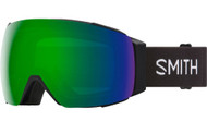 Smith Optics I/O MAG Black/CPS Green Mirror Lens Ski Goggles - 2021