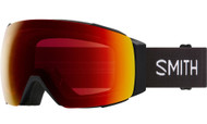 Smith Optics I/O MAG Black/CPS Red Mirror Lens Ski Goggles - 2021