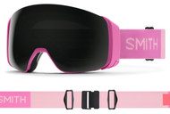 Smith 4D MAG Goggles ASIA FIT Flamingo Frame CPS Black Lens - 2022