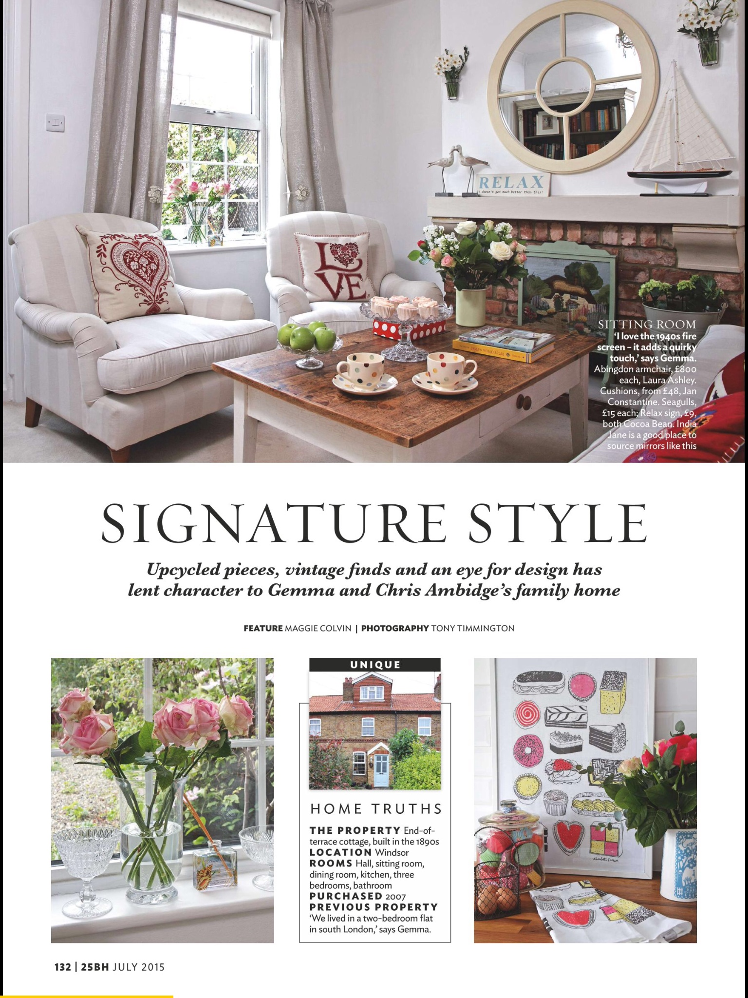 Beautiful Homes Magazine 25 beautiful homes magazine - july 2015