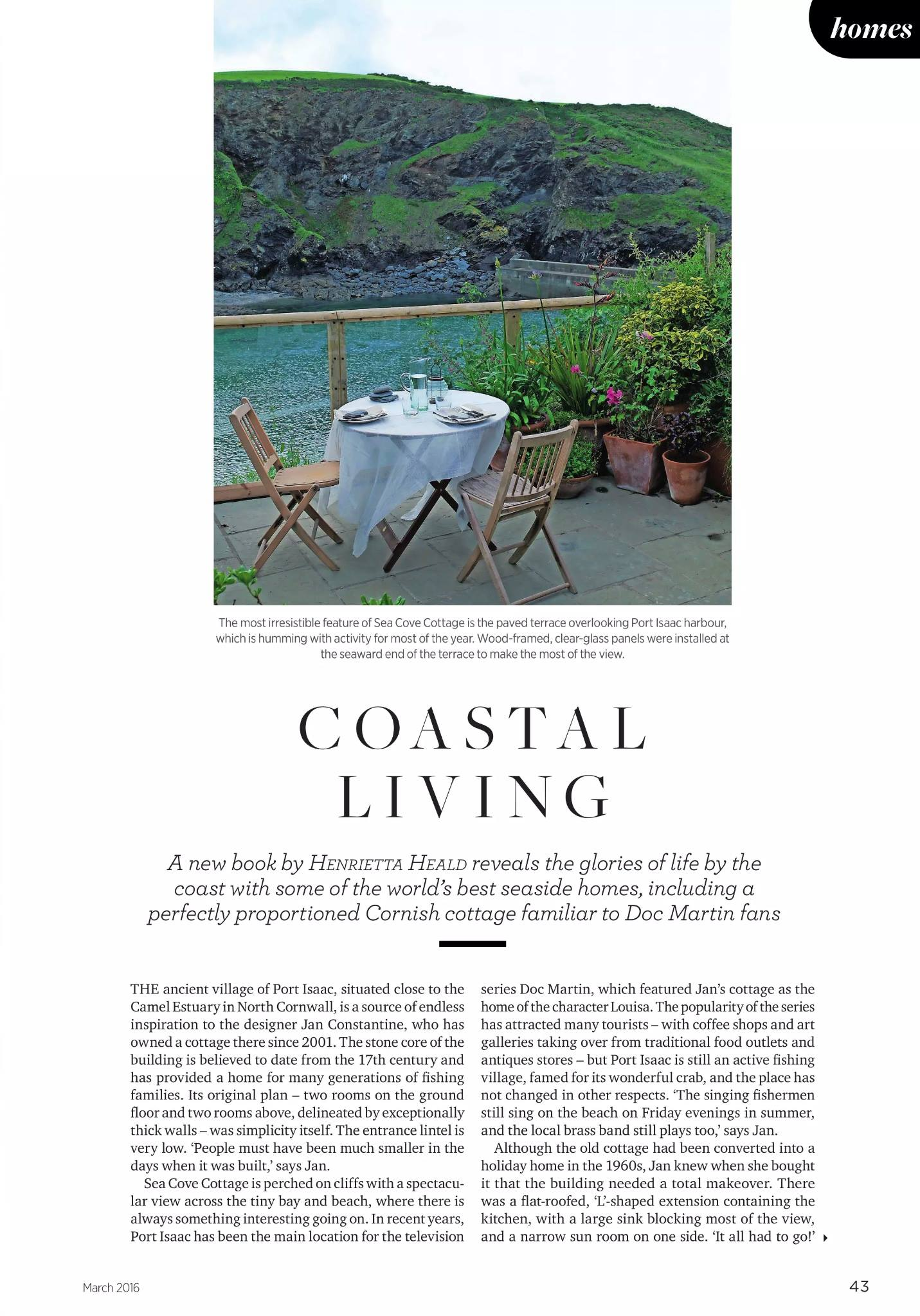Coastal Living - March 2016
