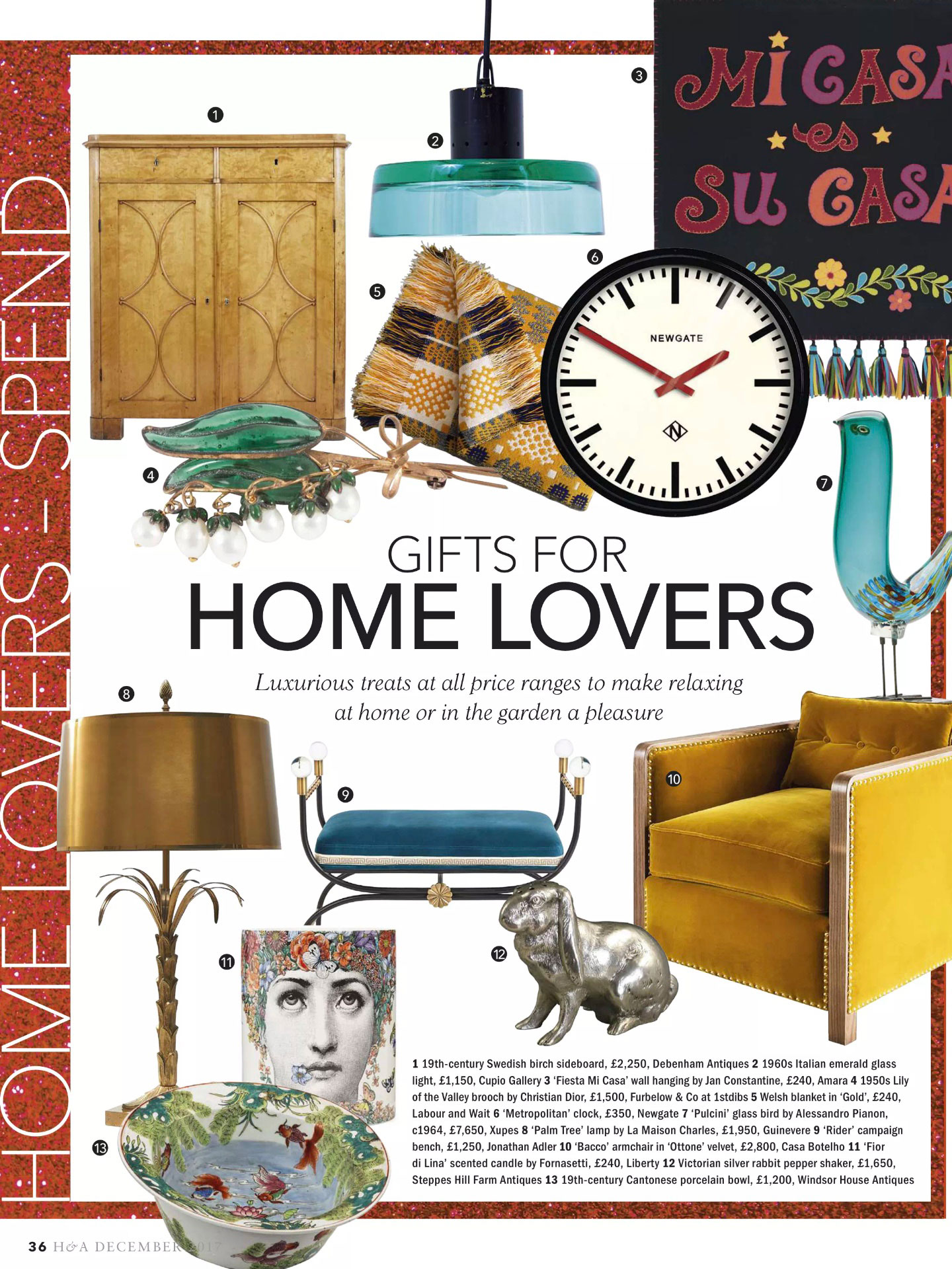 Homes and Antiques - December 2017