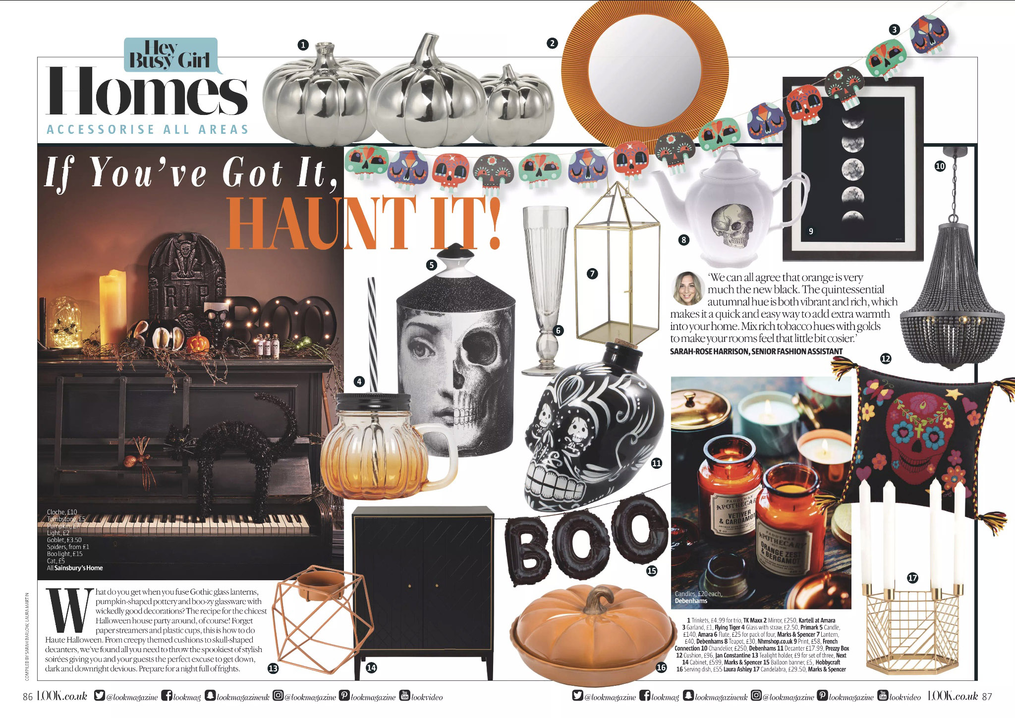 Look Magazine - October 2017