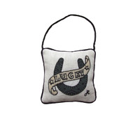 Lucky lavender bag, linen, tattoo collection
