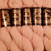 Cream DMC Tapestry Wool Hank 7746 Box of 5