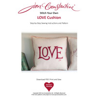 Stitch Your Own Love Cushion