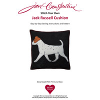Stitch Your Own Jack Russell Cushion