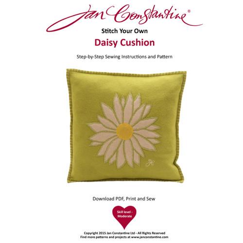 Stitch Your Own Daisy Cushion