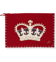 London Crown Zippy Purse (Red)