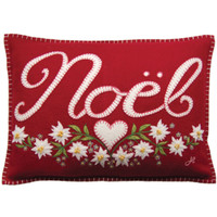 Alpine Mini Noel Cushion (Red)