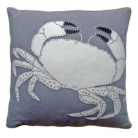 Marine Crab Cushion (Grey)