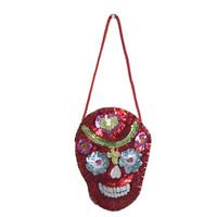 Sequin Skull Decoration
