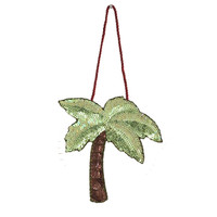 Sequin Palm Tree Decoration