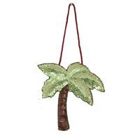 Christmas Sequin Palm Tree Decoration